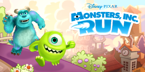 Monstropolis-X3 - MONSTERS RUN - DISNEY
