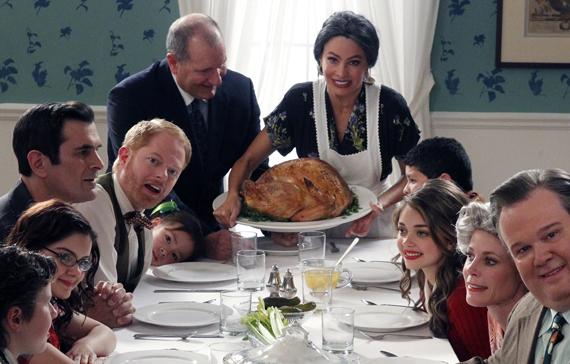 Modern-Family cuadro vivo