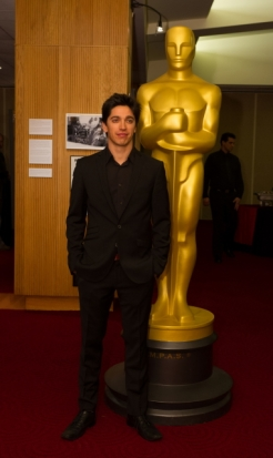 "Yan England director of the Oscar®-nominated live action short film ""Henry"". Credit: Darren Decker / ©A.M.P.A.S."