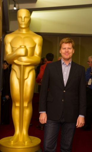 "John Kahrs, director of the Oscar®-nominated animated short film ""Paperman"". Credit: Darren Decker / ©A.M.P.A.S."