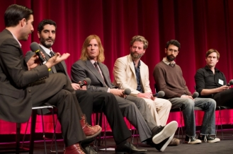 "(from left to right): Host Jason Schwartzman; Mino Jarjoura and Bryan Buckley co-directors of the Oscar®-nominated live action short film ""Asad""; Sam French and Ariel Nasr, co-directors of the Oscar®-nominated live action short film ""Buzkashi Boys"" and Shawn Christensen, director of the Oscar®-nominated live action short film ""Curfew"". Credit: Greg Harbaugh / ©A.M.P.A.S."
