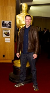 """Animated filmmaker Mark Andrews, of the Oscar®-nominated Animated Feature """"Brave"""". Credit: Darren Decker / ©A.M.P.A.S."""