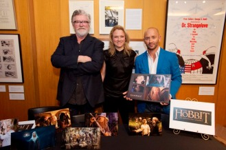 "Peter Swords King, Tami Lane and Rick Findlater ""The Hobbit: An Unexpected Journey"" . Credit: Matt Petit / ©A.M.P.A.S."