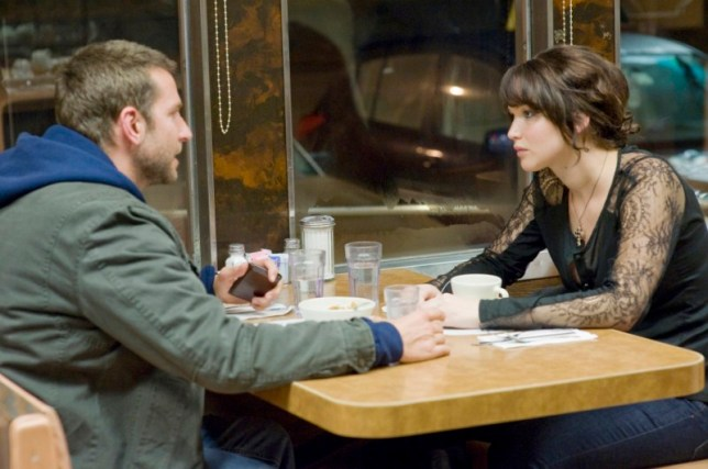 (L-R) BRADLEY COOPER and JENNIFER LAWRENCE star in SILVER LININGS PLAYBOOK