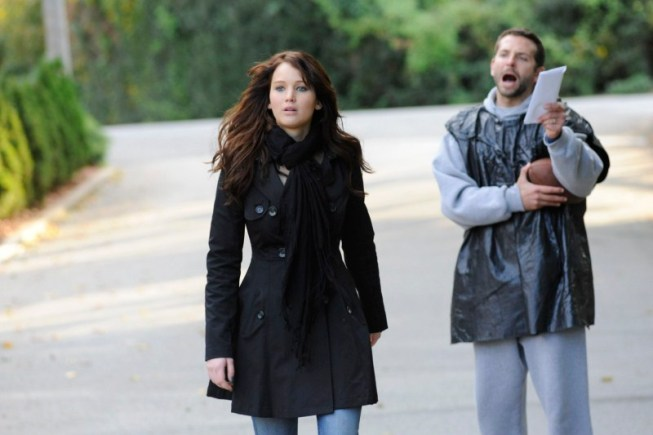 JENNIFER LAWRENCE and BRADLEY COOPER star in SILVER LININGS PLAYBOOK.