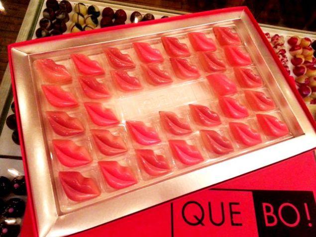 labios sabor fresa