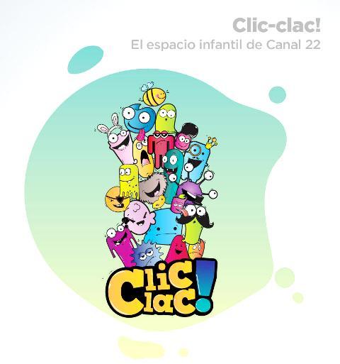 CLIC CLAC - LOGO - CANAL 22