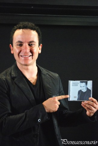 FONSECA - CONFERENCIA DE PRENSA - MEXICO - ALBUM ILUSION - FOTO 5