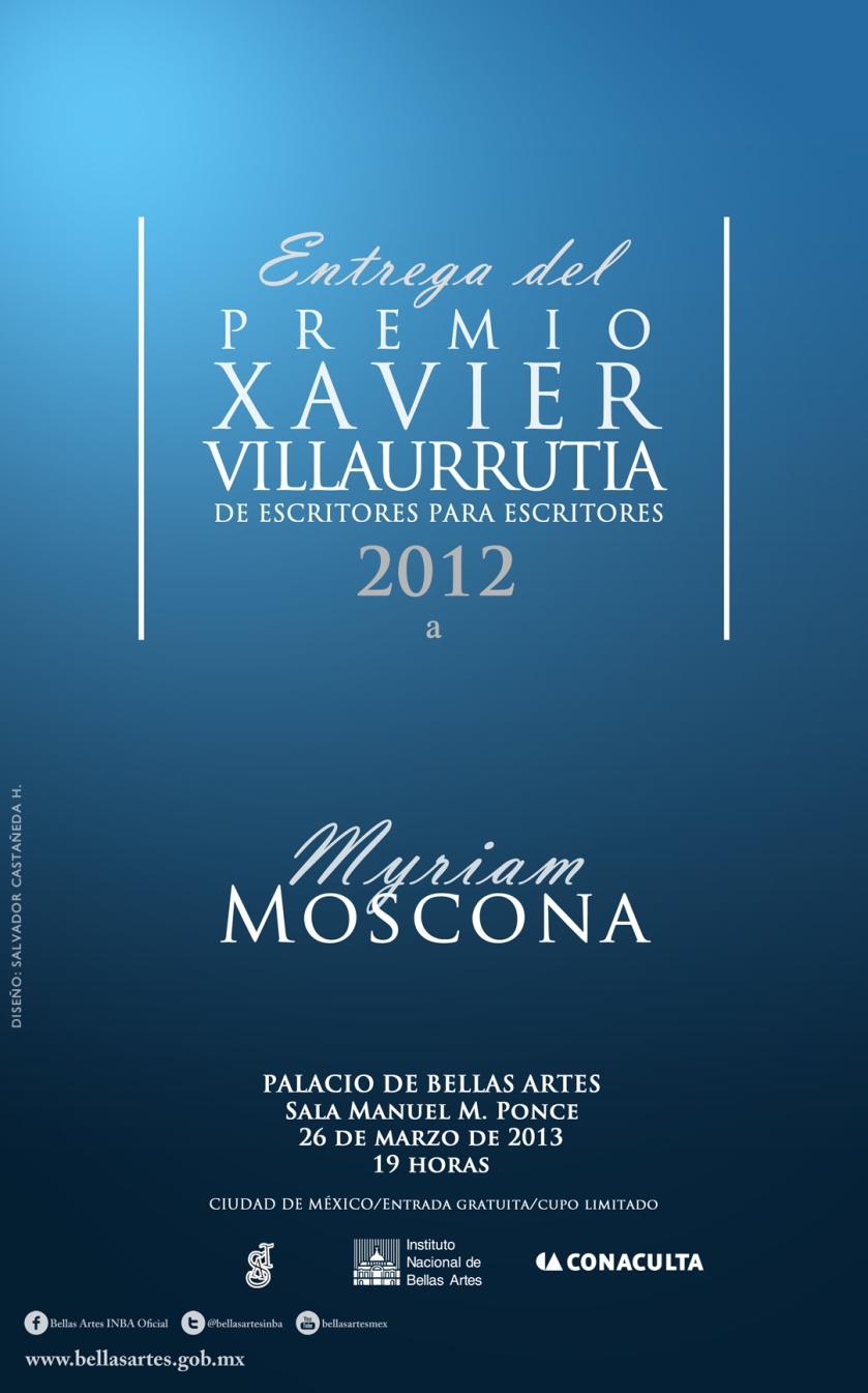 Inv. Entrega del PXV 2012