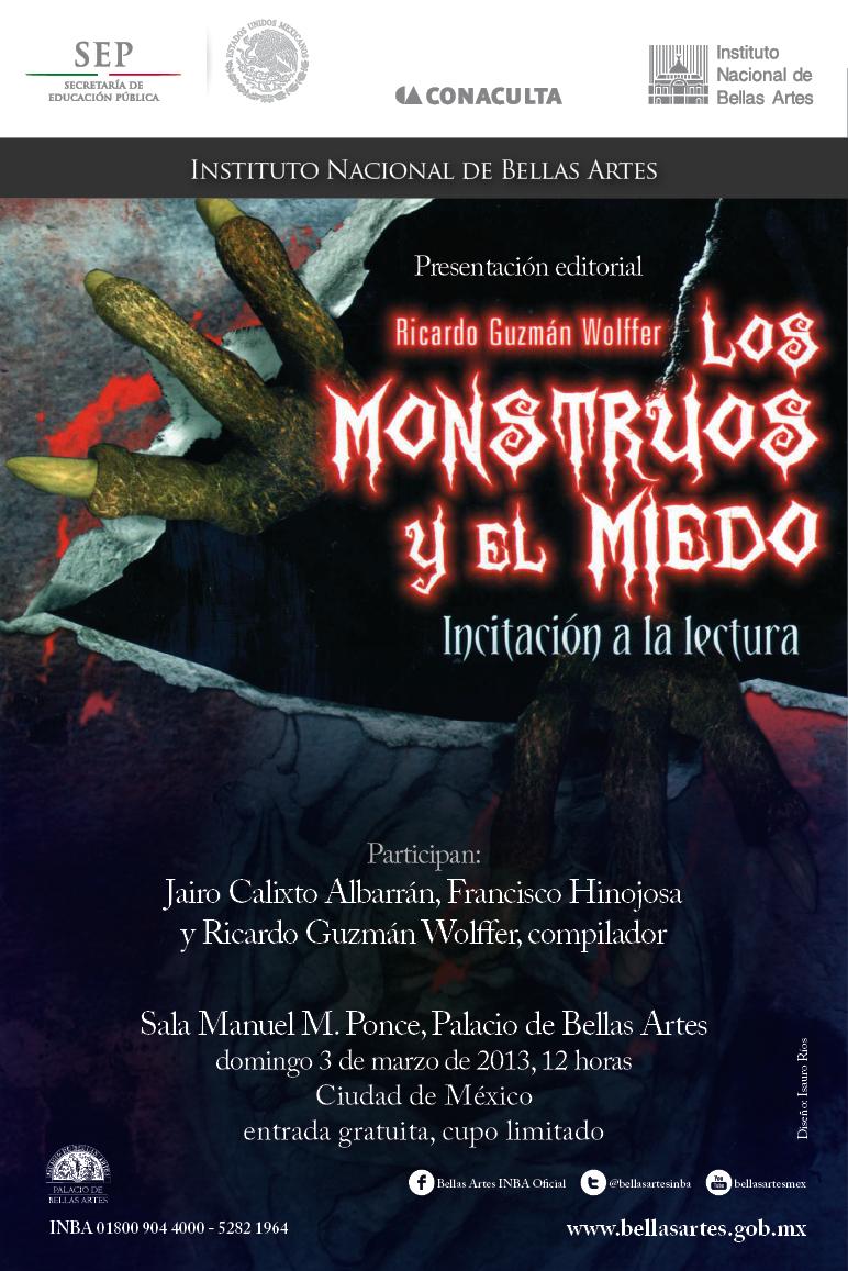 Inv. Los monstruos y el miedo