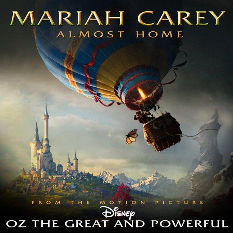 mariah carey - oz the great and powerful - portada cd