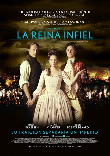 Poster La Reina Infiel