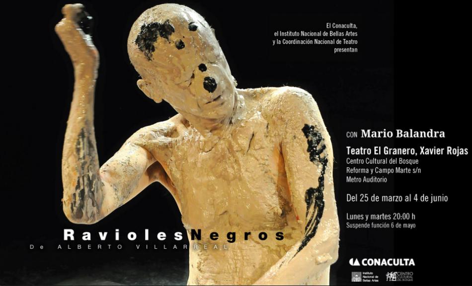 RAVIOLES NEGROS - TEATRO - INBA - ALBERTO VILLARREAL