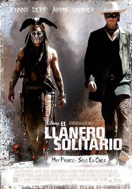 EL LLANERO SOLITARIO - POSTER - ESPAÑOL