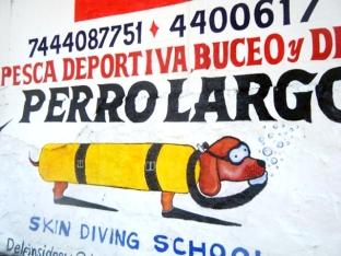 Logotipo de escuela de buceo