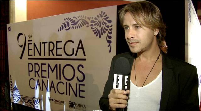 Novena entrega premios Canacine - Carlos Gascon - Foto - E Entertainment Television