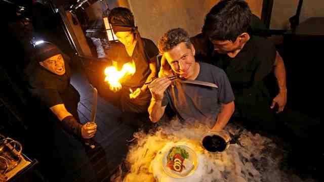 Restaurantes Extraños_Ninja