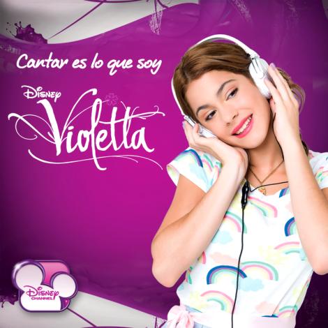 VIOLETTA - DISNEY - CANTAR ES LO QUE SOY - MARTINA STOESSEL - DISNEY CHANNEL