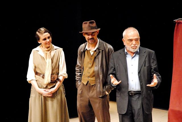 Adriana Duch, Manuel Domínguez y Alejandro Luna
