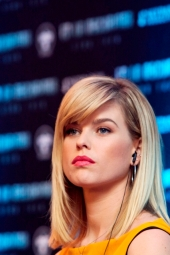 ALICE EVE - STAR TREK - CONFERENCIA DE PRENSA - MEXICO