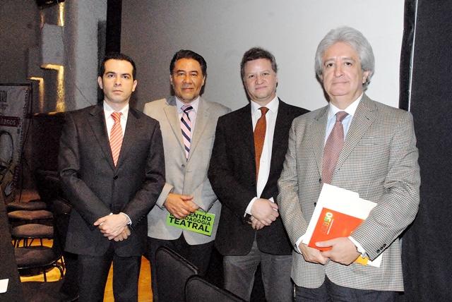 Arturo Delgado, Jorge Gutiérrez, Ricardo Garcia y Álvaro Rodríguez