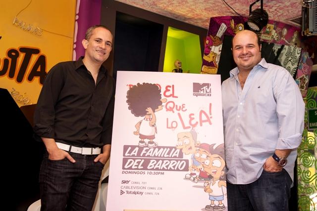 Arturo Navarro y Teco Lebrija La Familia del Barrio28