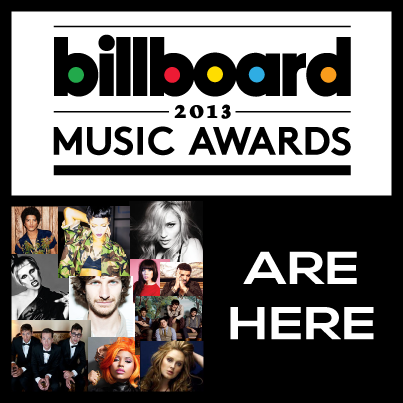 BILLBOARD MUSI AWARDS 2013 - POSTER