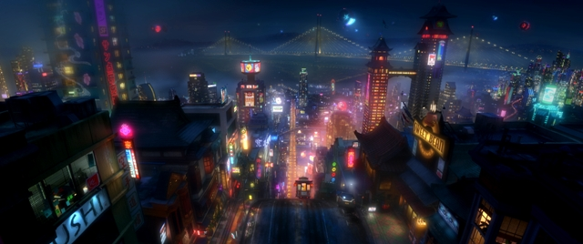 Copia de BIG HERO 6 - BRIDGE - FOTO 2 - WALT DISNEY PICTURES