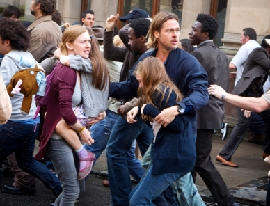 Copia de BRAD PITT - WORLD WAR Z - FOTO 1