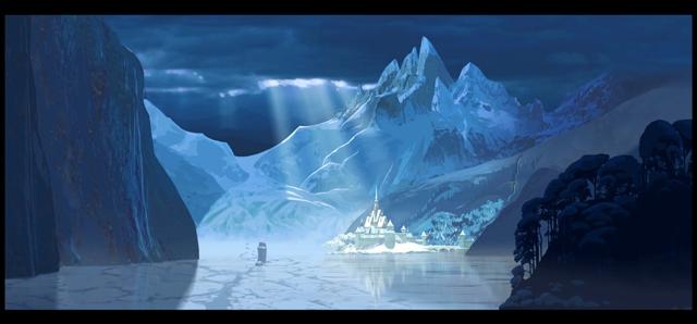 Copia de frozen - arte conceptual - walt disney