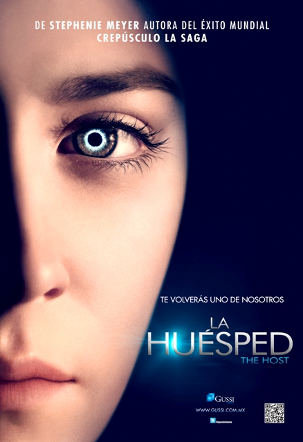 LA HUESPED - POSTER - GUSSI CINEMA- THE HOST