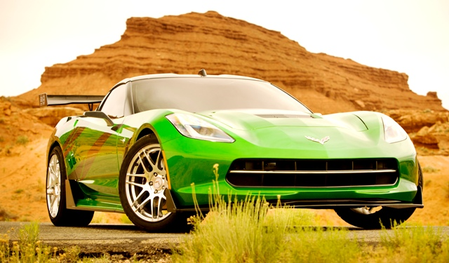Corvette_Stingray_1 - TRANSFORMERS 4 - PARAMOUNT PICTURES