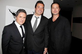 DA1031 - WORLD WAR Z - EVENT - JIMMY FALLON - BRAD PITT