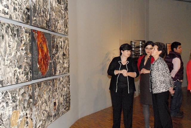 Magdalena Zavala, Eugenia Macías y María Cristina García Cepeda