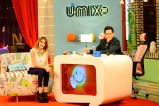 THE UMIX SHOW - MARTINA STOESSEL - IGNACIO RIVA PALACIO - INVITADA PROGRAMA - DISNEY CHANNEL