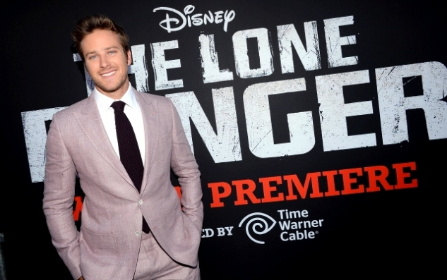 002 - ARMIE HAMMER - THE LONE RANGER - RED CARPET - CALIFORNIA - DISNEY