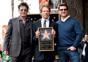 0022_HOLLYWOOD WALK OF FAME - JOHNNY DEPP - JERRY BRUCKHEIMER - TOM CRUISE