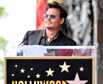 0033_JOHNNY DEPP - HOLLYWOOD WALK OF FAME