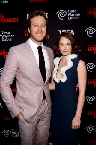 011 - ARMIE HAMMER - RUTH WILSON - THE LONE RANGER - RED CARPET - DISNEY - CALIFORNIA