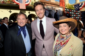 0134 - ARMIE HAMMER - THE LONE RANGER - RED CARPET - DISNEY - CALIFORNIA