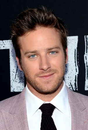 0135 - ARMIE HAMMER - THE LONE RANGER - RED CARPET - DISNEY - CALIFORNIA