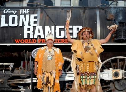 014- disney - the lone ranger - red carpet - california