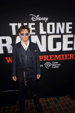 0171 - JOHNNY DEPP - THE LONE RANGER - RED CARPET - DISNEY - CALIFORNIA