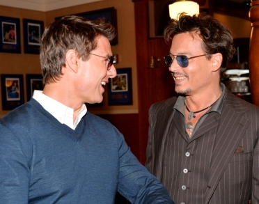 019_Legendary - TOM CRUISE - JOHNNY DEPP - HOLLYWOOD WALK OF FAME - JERRY BRUCKHEIMER