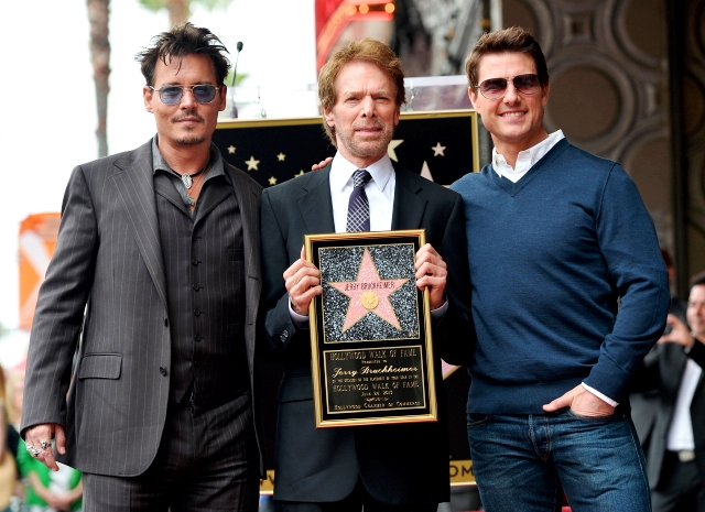 02_Legendary - JERRY BRUCKHEIMER - JOHNNY DEPP - TOM CRUISE - ESTRELLA - PASEO DE LA FAMA