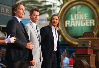 035 - THE LONE RANGER - RED CARPET - DISNEY - CALIFORNIA