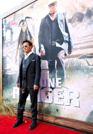 04 - JOHNNY DEPP - RED CARPET - CALIFORNIA - THE LONE RANGER