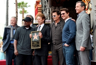 044_Legendary- JERRY BRUCKHEIMER AND FRIENDS - HOLLYWOOD WALK OF FAME