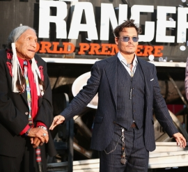 048 - JOHNNY DEPP - THE LONE RANGER - RED CARPET - DISNEY - CALIFORNIA