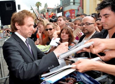056- JERRY BRUCKHEIMER - HOLLYWOOD WALK OF FAME